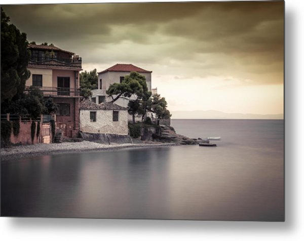 Whispers Of Autumn On Top On The Sea Metal Print