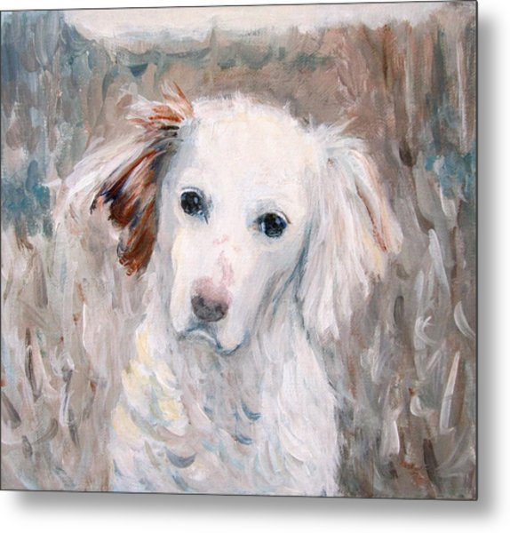 White Dog # 2 Metal Print