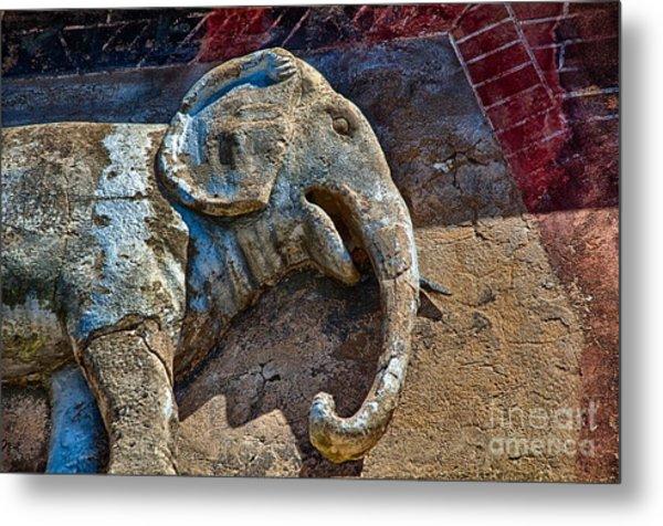 White Elephant Metal Print by Ken Williams