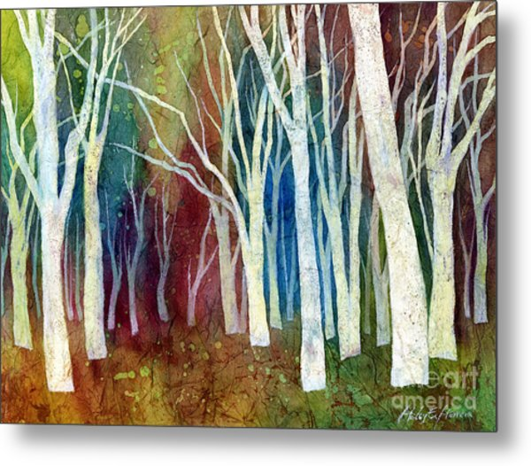 White Forest I Metal Print