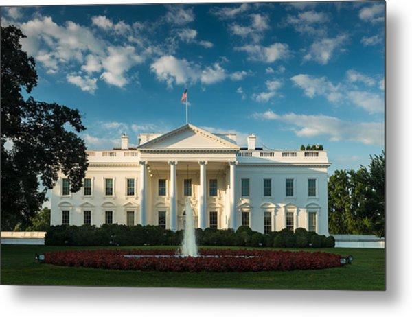 White House Sunrise Metal Print