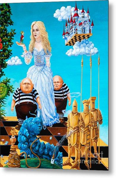 White Queen. Part 3 Metal Print