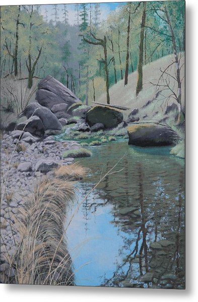 White Rock Creek Metal Print