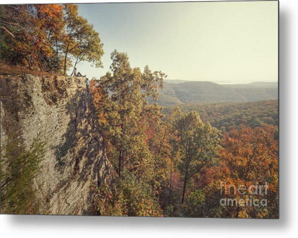 White Rock Mountain View Metal Print