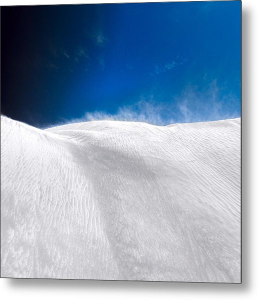 Metal Print featuring the photograph White Sands Desert by Julian Cook