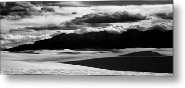 White Sands Nm Panorama Metal Print