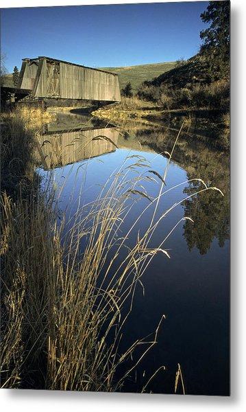 Whitman County Bridge Metal Print