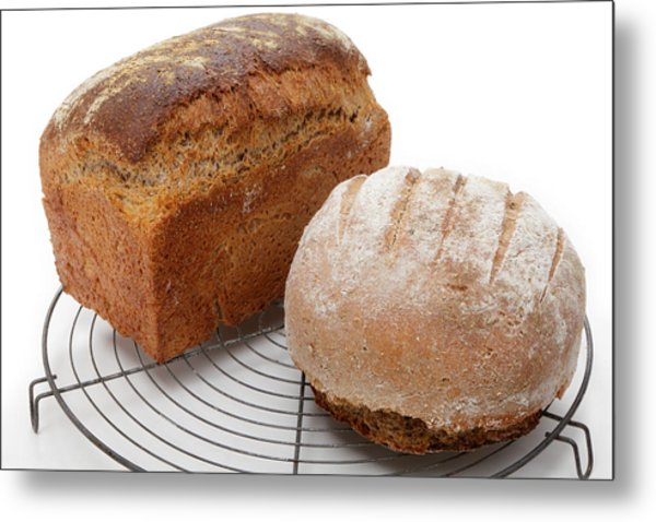 Wholemeal And Rye Metal Print