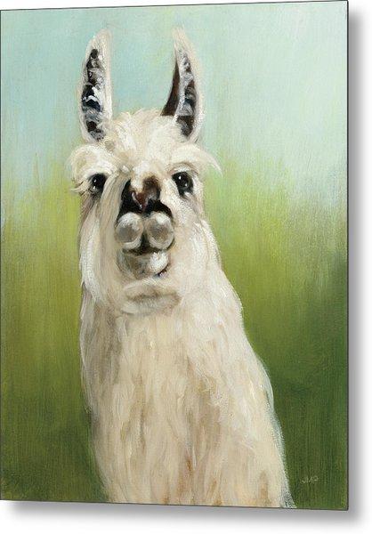 Whos Your Llama I Metal Print