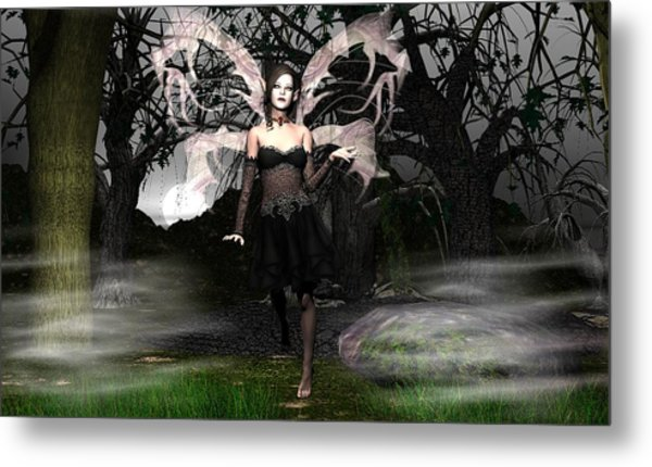 Wicked Night Metal Print by Eva Thomas