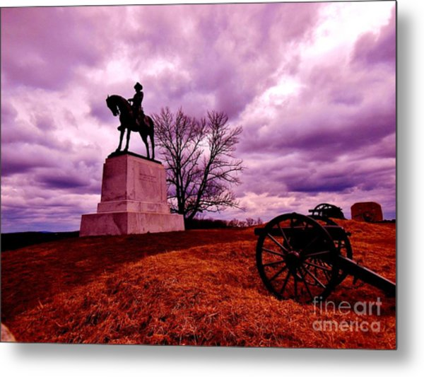 Wicked Remnants Metal Print by Sharon Costa