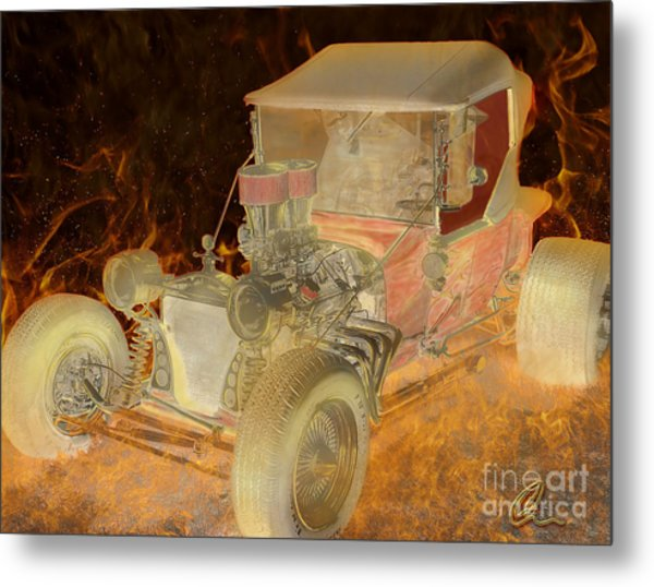 Wicked Ride Metal Print