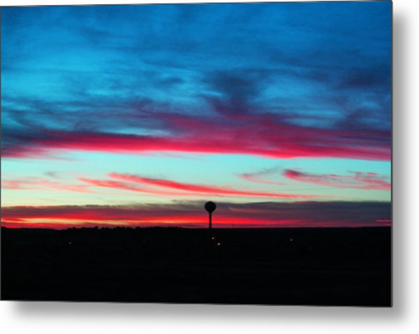 Wicked Sunset Metal Print