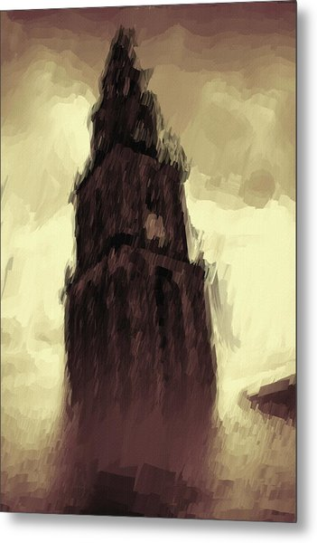 Wicked Tower Metal Print
