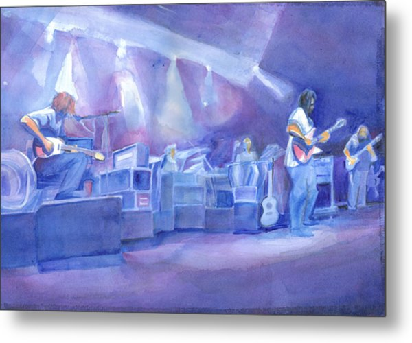 Widespread Panic With Michael Houser  Metal Print