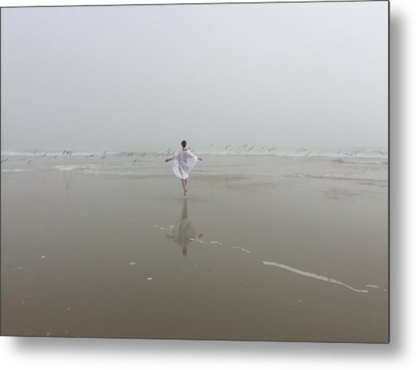 Wilbur By The Sea 1 Metal Print