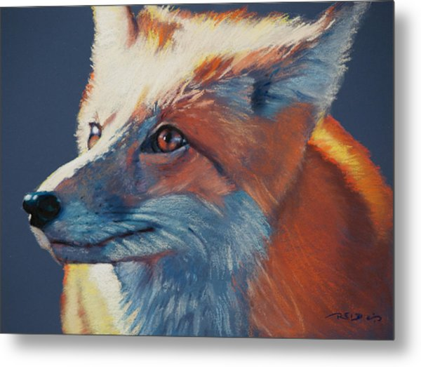 Wilbur Fox Metal Print