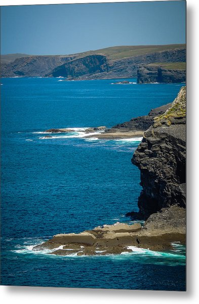 Wild Atlantic Coast Metal Print
