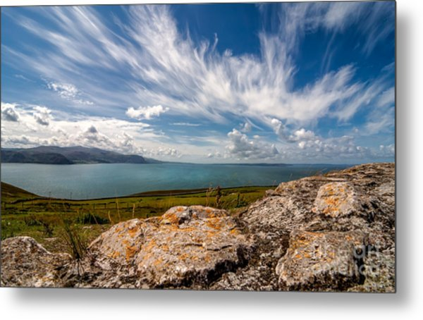 Wild Clouds Metal Print