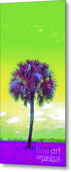 Wild Palm 3 Metal Print