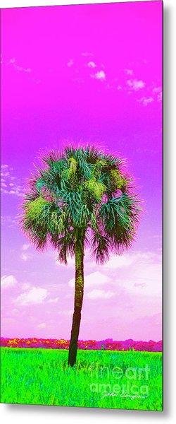 Wild Palm 4 Metal Print