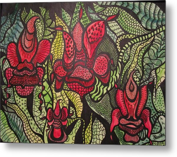 Wild Things  Metal Print