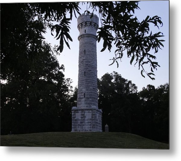 Wilder Tower Metal Print by William Watts