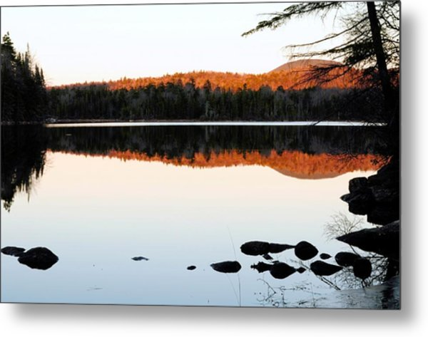 Wilderness Sunset Metal Print