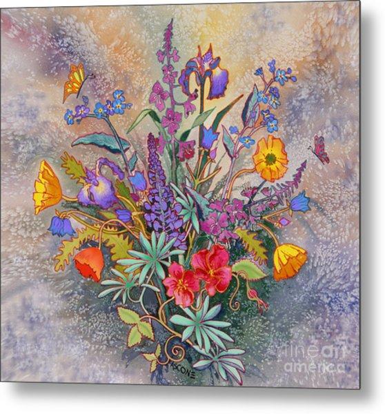 Wildflowers Of Alaska II Metal Print