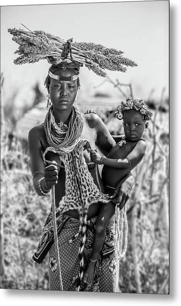 Wildness In Their Minds Metal Print