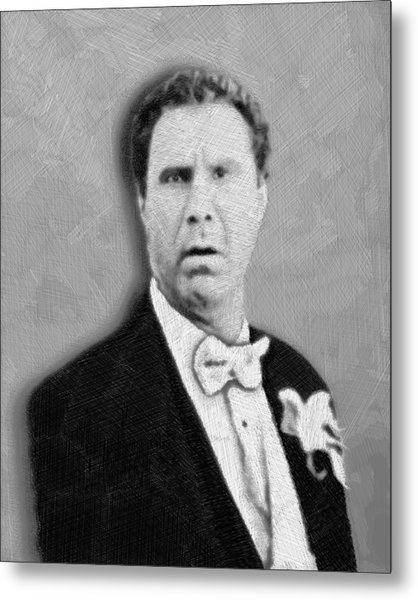 Will Ferrell Old School  Metal Print