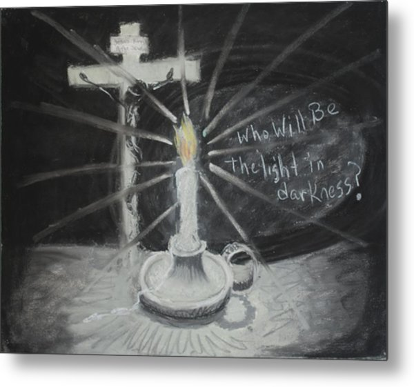 Will You Be The Light? Metal Print by Shelia  Doebereiner
