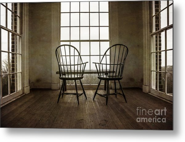 Will You Sit With Me? Metal Print