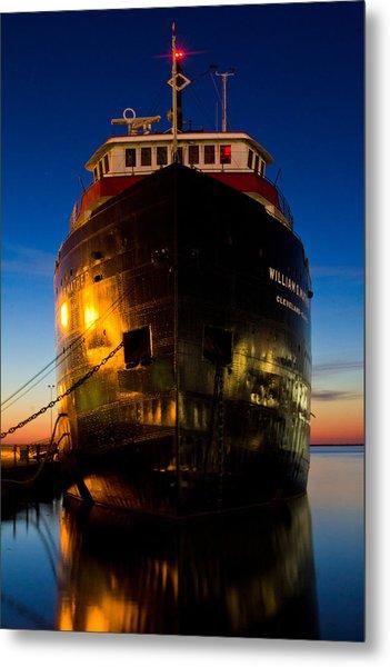 William G. Mather Maritime Museum Cleveland Ohio Metal Print