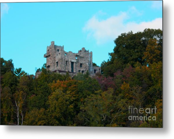 William Guillette Castle Metal Print