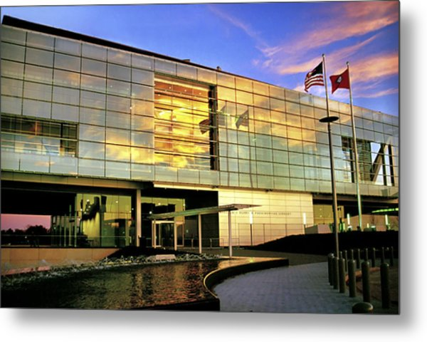William Jefferson Clinton Presidential Library Metal Print