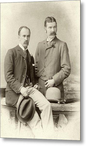 William Osler And Ramsay Wright Metal Print