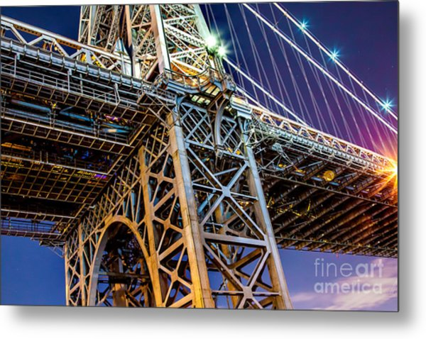 Williamsburg Bridge 1 Metal Print