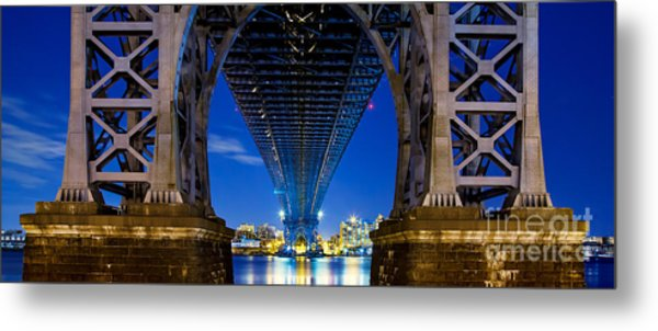 Williamsburg Bridge 4 Metal Print