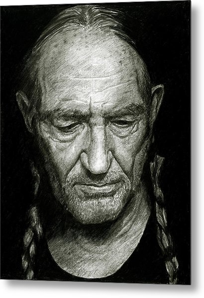 Willie Metal Print