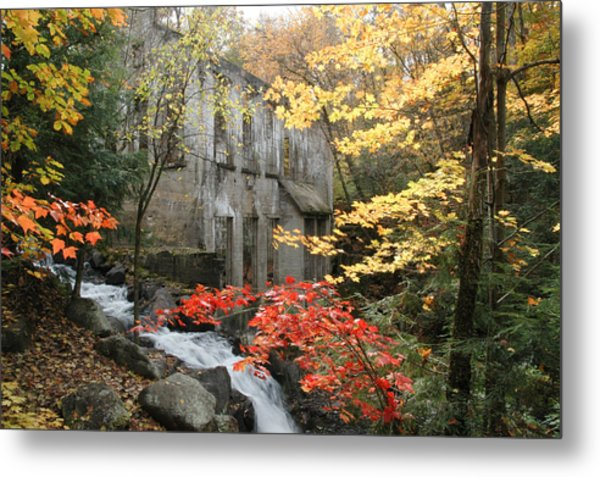 Willsons Ruins In Gatineau Park In Quebec Metal Print by Rob Huntley