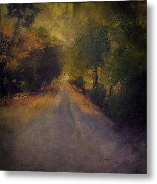 Wilsonville Road Metal Print by W i L L Alexander