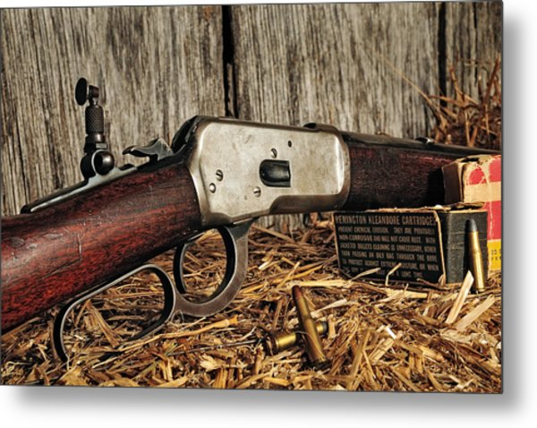 Winchester Lever Action Metal Print