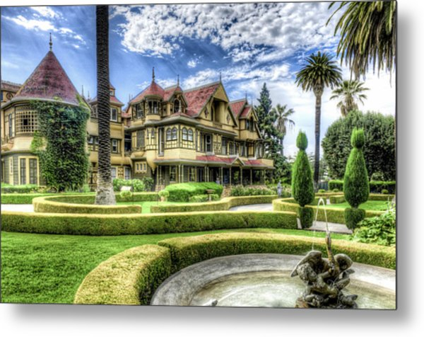 Winchester Mystery House Metal Print