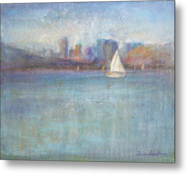Wind In My Sails Metal Print