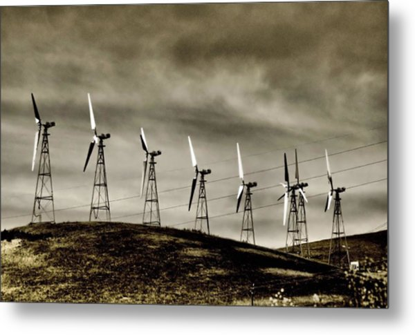 Wind Warriors Iv Metal Print