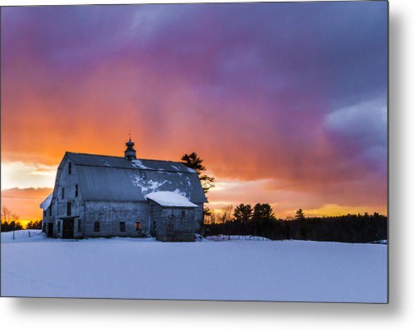 Windham Barn  Metal Print