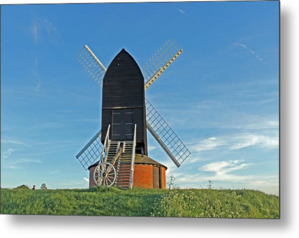 Windmill At Brill Metal Print