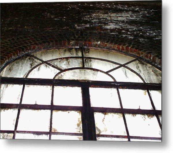 Window And Wall Metal Print