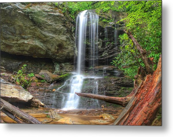 Window Falls Metal Print